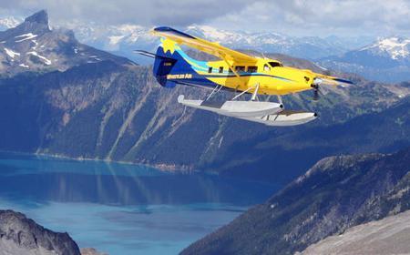 Whistler Alpine Lake Landing Tour by Seaplane