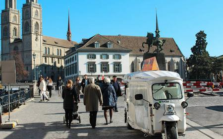 Zurich: city tour with highlights by tuk-tuk