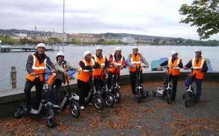 Zurich: 2-Hour City E-Bikeboard Tour