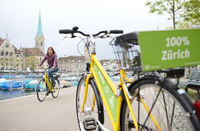 Zurich: Cycling Tour by the Lake and Limmat and Sihl Rivers