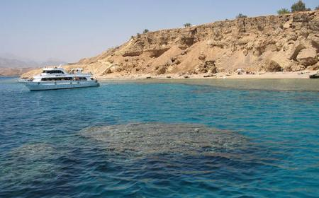 Ras Mohammed Boat Trip with Snorkeling and Swimming