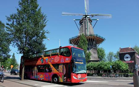 Saver Combo: Amsterdam Hop-On Hop-Off with Heineken Brewery Tour