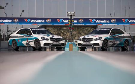 Yas Island Mercedes-AMG E63 or CLS Drag Race Experience