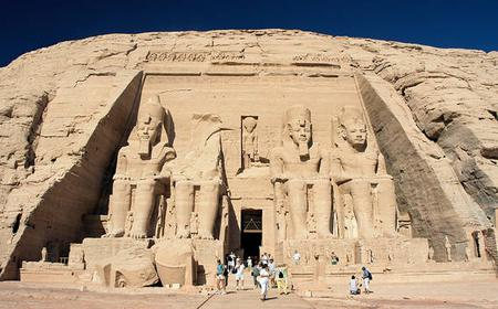 Excursion to Abu Simbel by flight from Aswan