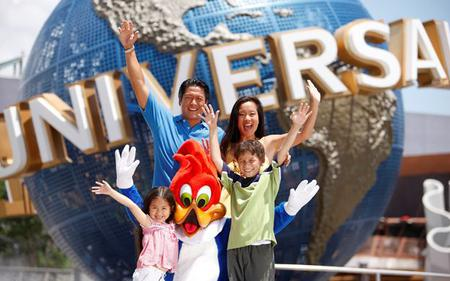 Universal Studios Singapore® One Day Pass with Hotel Pick-up