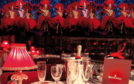 Moulin Rouge Show and Dinner with Transport