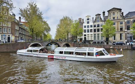 Amsterdam Hop-On Hop-Off Canal Cruise 24-Hour Ticket