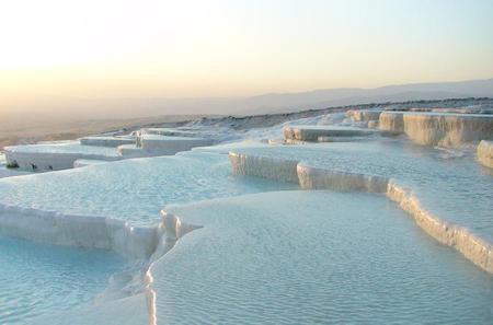 Best of Pamukkale Tour From Kusadasi: Hierapolis,Travertines,Cotton Castle
