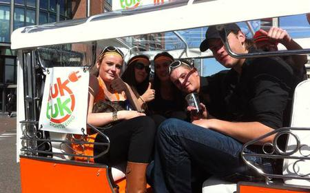 Amsterdam: Private Sightseeing Tour by Tuk Tuk