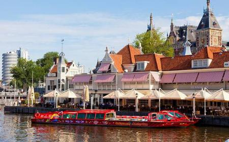 Amsterdam: 24-Hour Hop-on Hop-off Canal Cruise