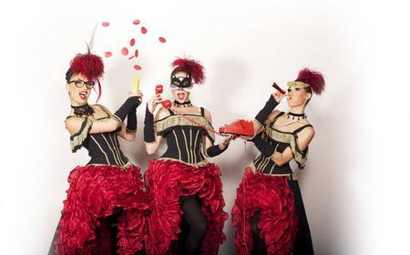 Paris: 4-Hour Famous Paradis Latin Cabaret with Transport