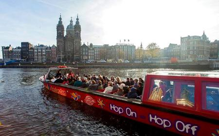 Amsterdam Hop-on, Hop-off Canal Cruise