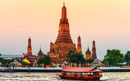 Bangkok Temples Tour and Chao Phrya River Cruise