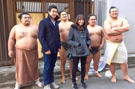 Sumo Practice Guided Morning Tour and Tokyo SkyTree Ticket