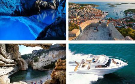From Split: Trip to Blue Cave with a Luxury Boat
