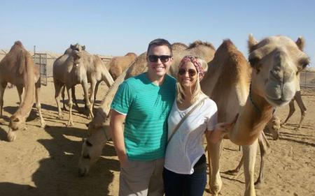 Dubai 4-in-1 Desert Tour – Quad Bike, Camel Safari, Sandboarding and Camel Farm