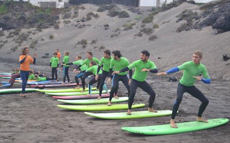Surf Lesson all Levels 2 hrs in Tenerife
