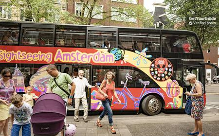 Amsterdam: Hop-On/Hop-Off-Bus- und Bootstour