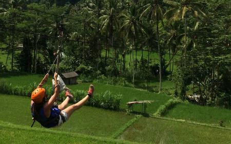 Bali: White Water Rafting with Flying Fox