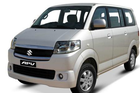Amed < > Ubud Private Ground Transfer Service with a Suzuki APV van