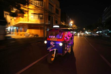 Bangkok Night Lights - Tuk Tuk Tour