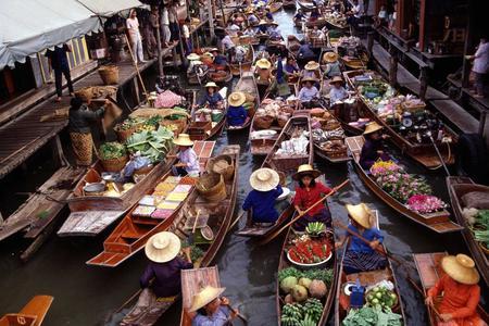 Half Day Floating Market Tour