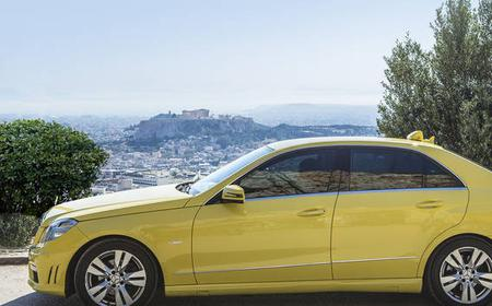 Athens Airport Taxi Transfer to or from Athens Hotels