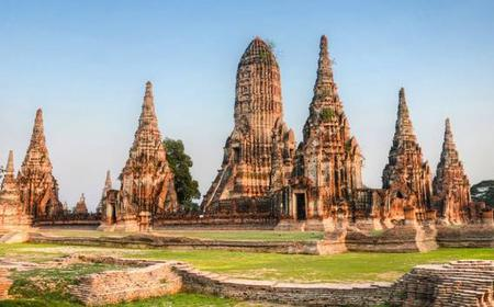Ayutthaya Ancient Capital Tour with Return River Cruise