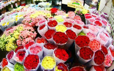 Flower Market Damnoen Saduak