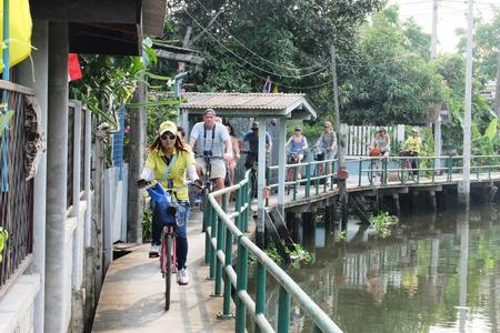 Boat & Cycling Tour In The Heart Of Chinatown