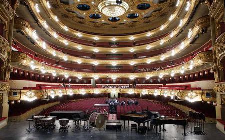 Liceu Opera Barcelona & Círculo del Liceo Guided Tour