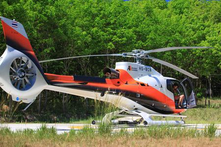 Private helicopter charter service