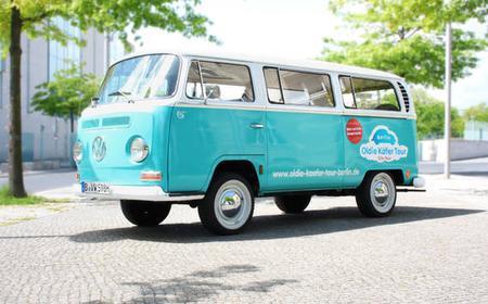 Berlin: Great east-west lap with original T2 VW bus