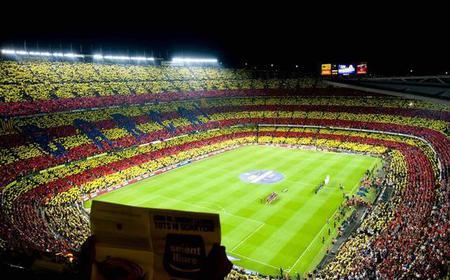 Barcelona: Camp Nou Tour on Electric Bike