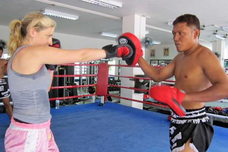 Private Muay Thai Training with a Personal Trainer
