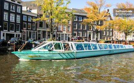 Amsterdam: 1-Hour Canal Cruise with Rijksmuseum