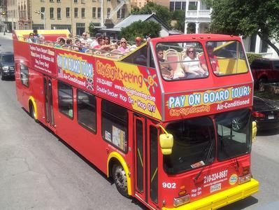San Antonio Tour Battle For Texas The Experience and River Cruise - Hop On Hop Off