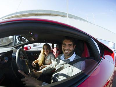 Barcelona Ferrari Drive & Helicopter Ride
