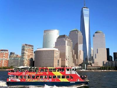 New York Ferry Tour with One World Observatory and Museum of American Art Admission Tickets - By Gray Line CitySightseeing New York