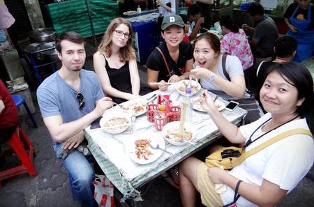 Street Food Trail in Thonburi Bangkok
