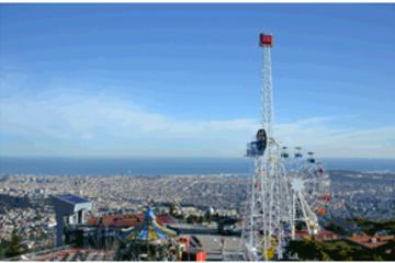 Tibidabo Amusement Park Entrance Ticket in Barcelona