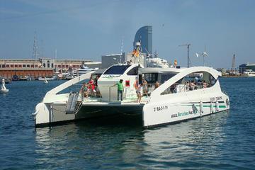 Port Vell and Barcelona Skyline Catamaran Cruise