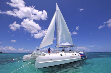 Sunset Cruise with Sail Catamaran from Bayahibe