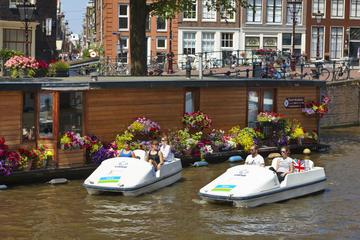 Amsterdam Canals Paddleboat Rental with Optional Heineken Experience