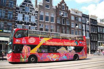 Hop-on-Hop-off-Tour durch Amsterdam mit optionaler Bootstour auf dem Kanal