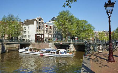 Amsterdam: Hop-On/Hop-Off-Kanalbus 48-Stunden-Ticket