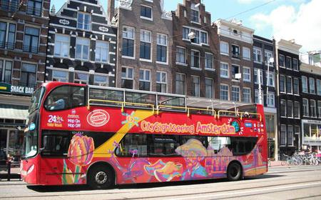 Amsterdam: Hop-On/Hop-Off-Bus-Tour mit Van Gogh Museum