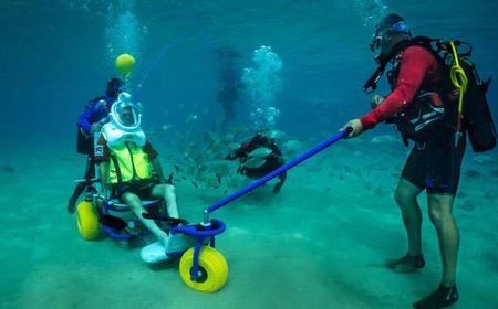 Sea Trek Diving for People with Limited Mobility: Lanzarote