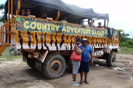 Dominican Republic Mega Truck Safari