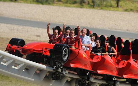 Abu Dhabi: Ferrari World Full-Day Entry Tickets